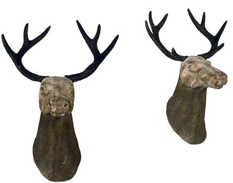 Dovetail Furniture - Stag Head Wall Decor - DOV4081