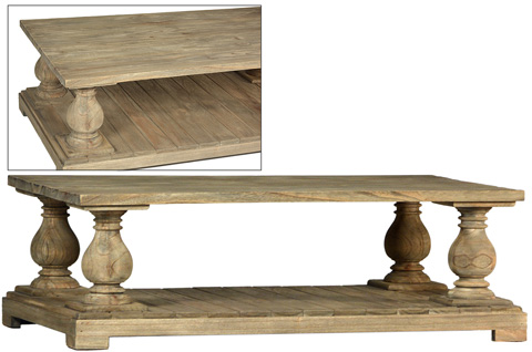 Dovetail Furniture - Lance Coffee Table - DOV7722