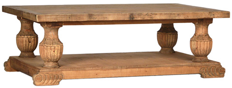 Dovetail Furniture - Dublin Coffee Table - DOV947
