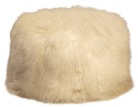 Image of Mohair Pouf