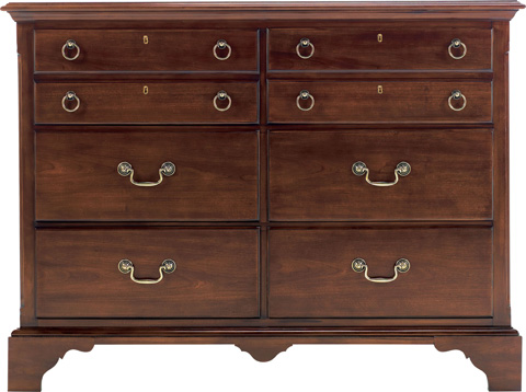 Image of Small Six Drawer Dresser