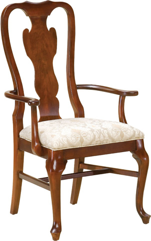 Image of Queen Anne Arm Chair