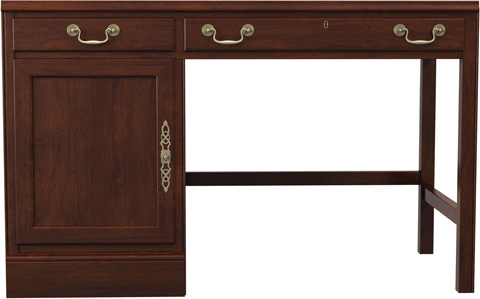 Image of Single Pedestal Desk