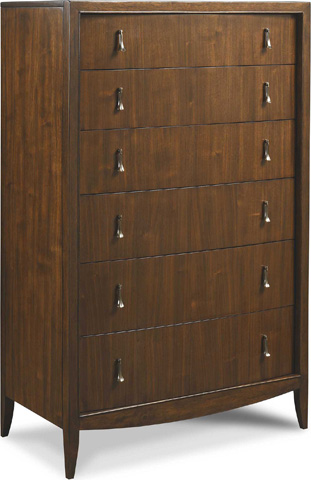Image of Sculpted Six Drawer Chest