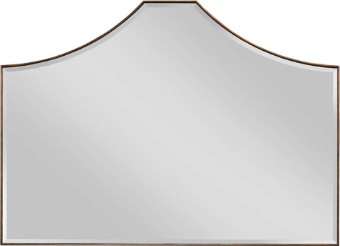 Image of Draping Beveled Mirror