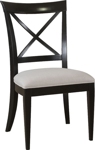 Image of X Back Side Chair