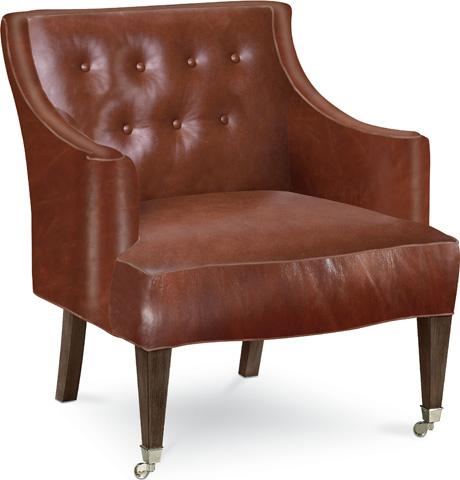 Drexel Heritage - Jocelyn Leather Chair - L20008-CH