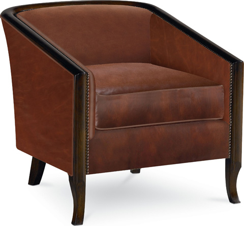 Drexel Heritage - Bria Leather Chair - L20009-CH