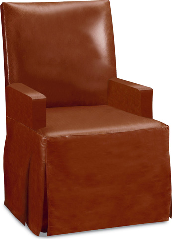 Drexel Heritage - Adela Leather Arm Chair - L20037-CH