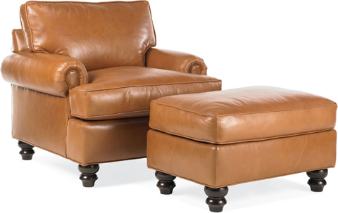 Drexel Heritage - Holloway Leather Chair - L70-CH