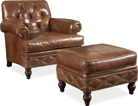 Drexel Heritage - Granville Leather Chair - L911-CH