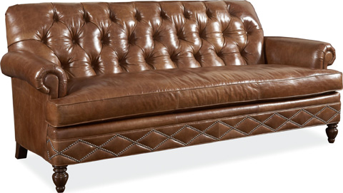 Drexel Heritage - Granville Leather Sofa - L911-S