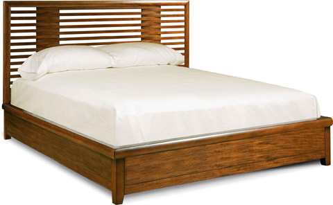 Image of Definition Panel Bed in Queen
