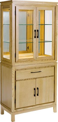 Drexel Heritage - Stacking Glass Door Cabinet - 926-455