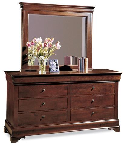 Durham Furniture Inc - Eight Drawer Double Dresser - 1004-172