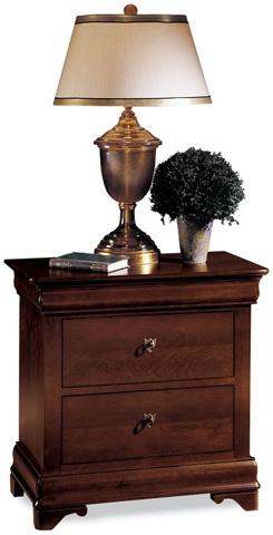 Durham Furniture Inc - Three Drawer Night Stand - 1004-203