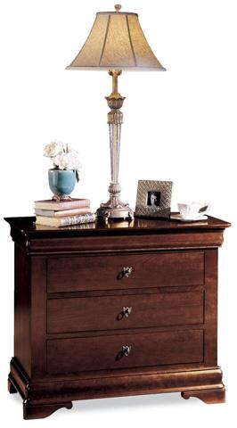 Durham Furniture Inc - Four Drawer Bedside Chest - 1004-204