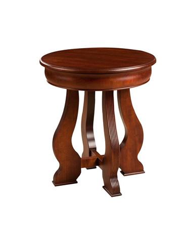 Durham Furniture Inc - Round Lamp Table - 112-538C