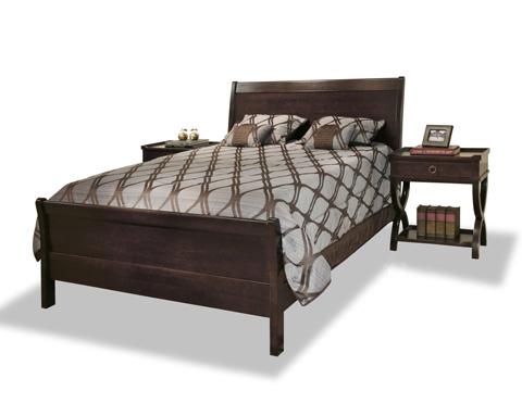 Durham Furniture Inc - Queen Sleigh Bed - 2408-127