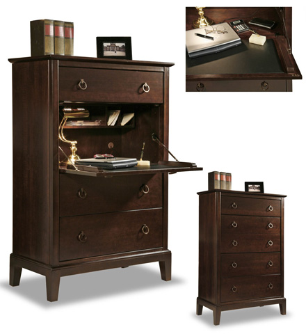 Durham Furniture Inc - Secretary Chest - 2408-153