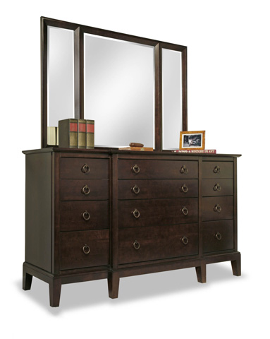 Durham Furniture Inc - Break Front Dresser - 2408-173