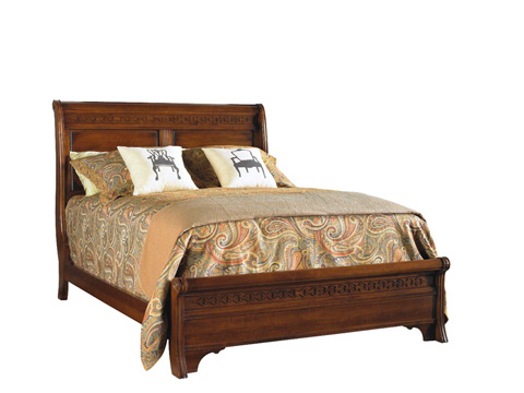Image of Low Queen Sleigh Bed