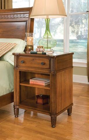 Durham Furniture Inc - Open Night Stand - 501-201