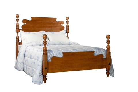 Durham Furniture Inc - Queen Cannonball Bed - 900-125