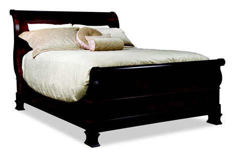 Durham Furniture Inc - Master Queen Sleigh Bed - 900-129
