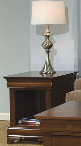 Durham Furniture Inc - Louis Phillipe End Table - 900-532C