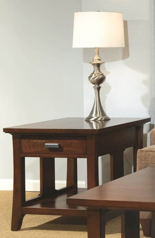 Durham Furniture Inc - Westwood Drawer End Table - 900-532S