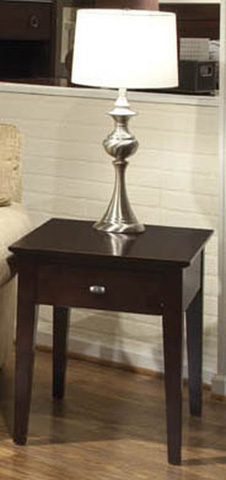 Durham Furniture Inc - Metro Drawer End Table With Shelf - 900-533
