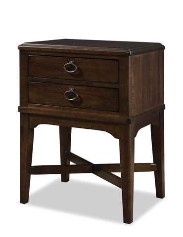 Durham Furniture Inc - Two Drawer Nightstand - 131-202