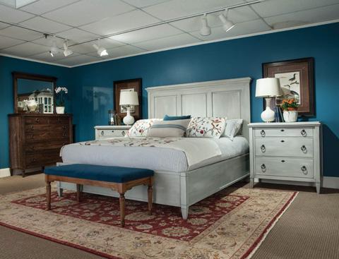 Durham Furniture Inc - Panel Bed - 145-124