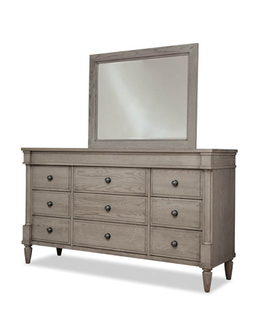 Durham Furniture Inc - Triple Dresser and Mirror - 141-173/141-181