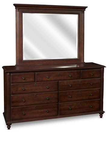 Durham Furniture Inc - Triple Dresser with Mirror - 985-173/985-182