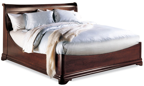 Durham Furniture Inc - King Euro Bed - 1004-142