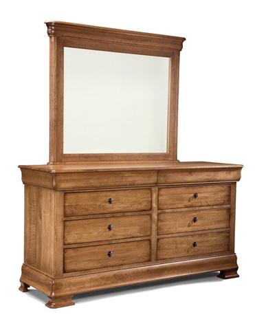 Durham Furniture Inc - Landscape Mirror - 112-182