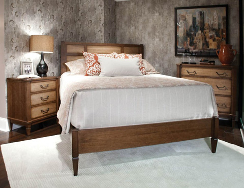 Durham Furniture Inc - King Low Panel Bed - 138-143
