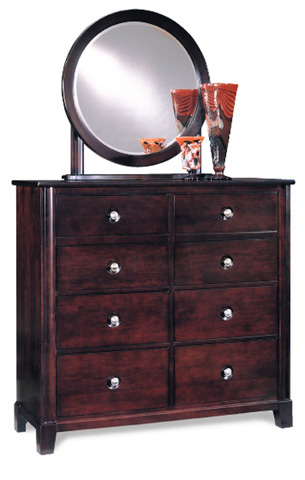 Durham Furniture Inc - Round Mirror - 227-180