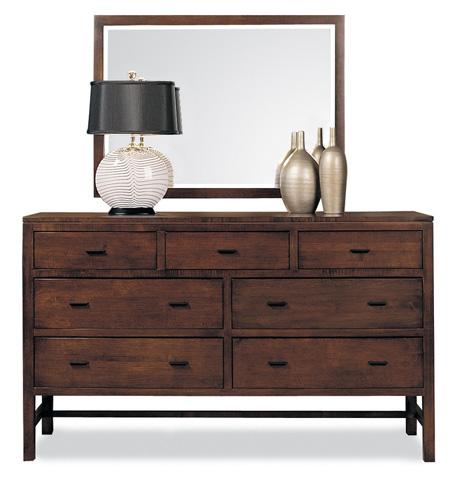 Durham Furniture Inc - Landscape Mirror - 258-182