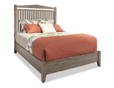 Durham Furniture Inc - King Slat Bed - 401-142