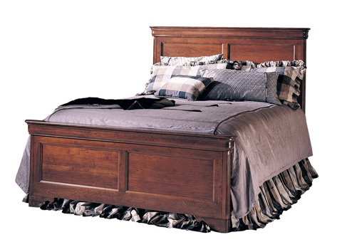 Image of King Panel Bed