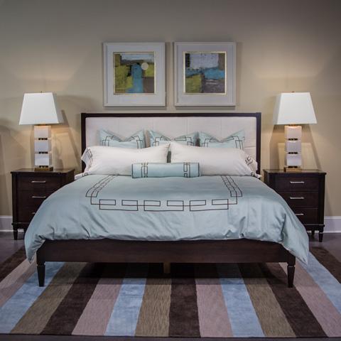 Bedroom sets bernhardt broyhill more furnitureland south for Standard furniture metro bedroom collection