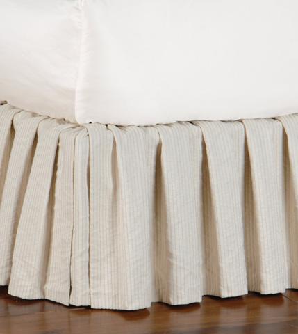Eastern Accents - Allston Ivory Skirt -King - SKK-170