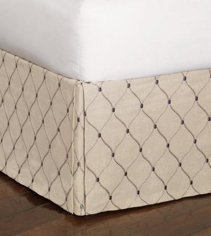 Eastern Accents - Branson Ivy Bed Skirt -King - SKK-350
