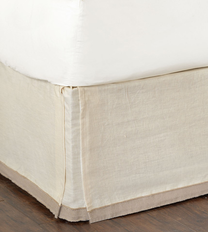 Image of Breeze Pearl Bed Skirt -King