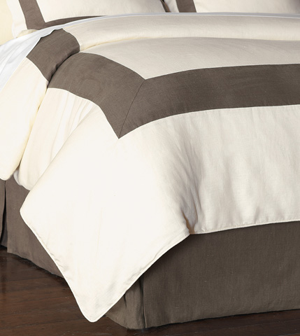 Image of Breeze Pearl/Clay Duvet Cover And Comforter -King