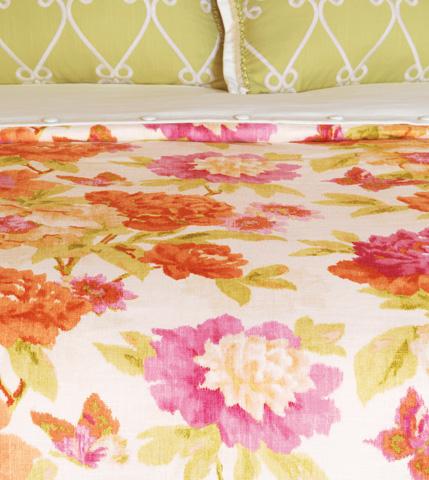 Image of Caroline Azalea Duvet Cover And Comforter -King