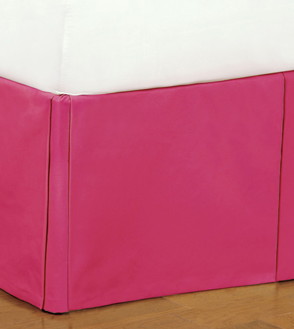 Eastern Accents - Decker Pink Bed Skirt -King - SKK-373